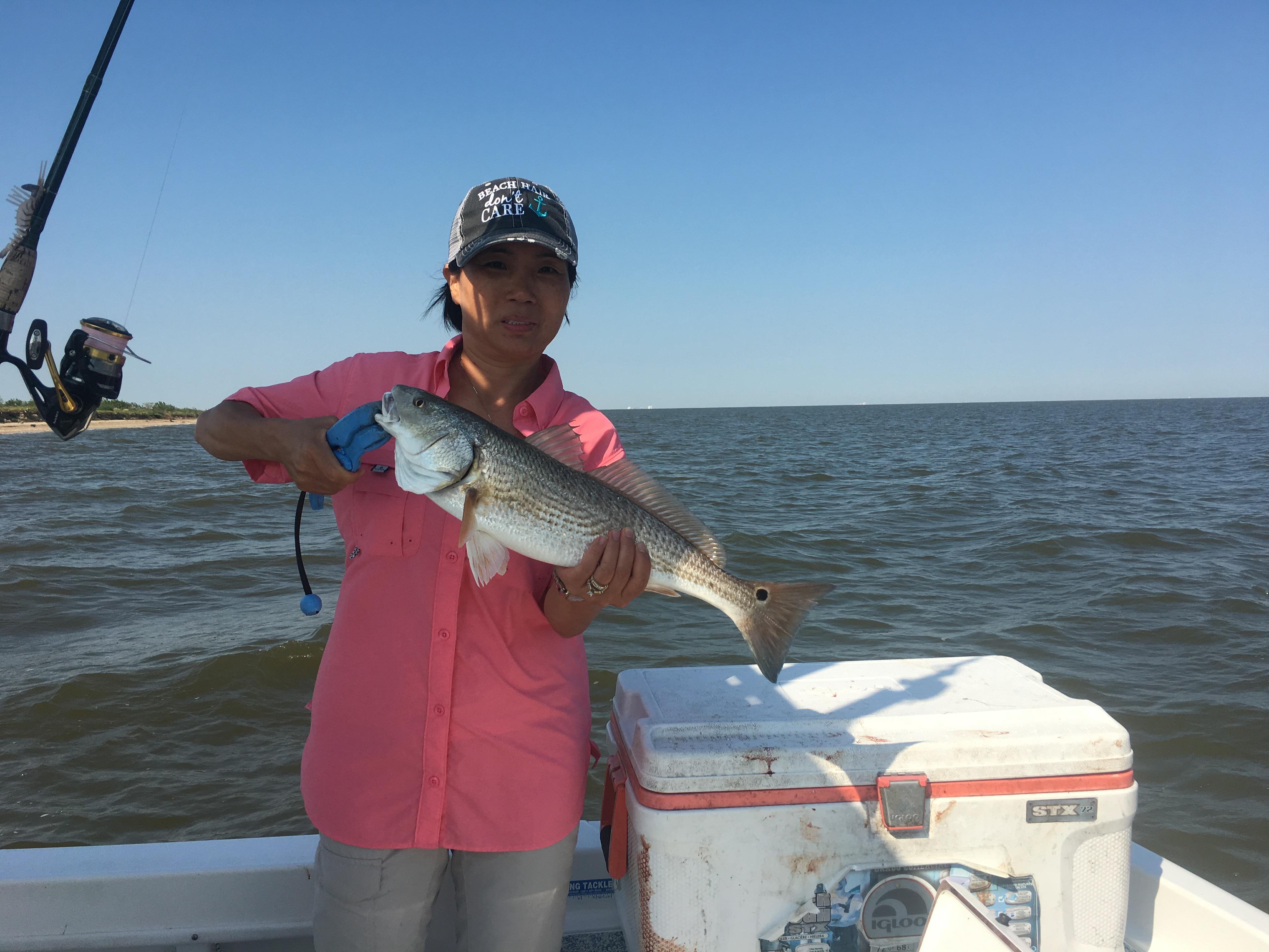 Galveston bay fishing guide charter fishing galveston texas for Fishing in galveston